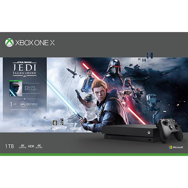 Xbox One X Star Wars ジェダイ:フォールン・オーダー デラックス エディション 同梱版 [1TB]