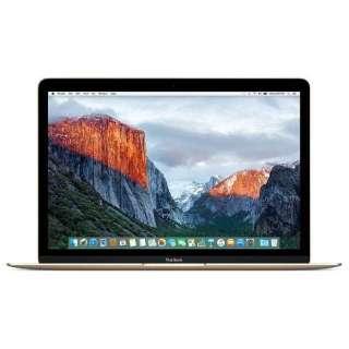 MacBook Retinaディスプレイ 1300/12 MNYL2J/A [ゴールド] 製品画像